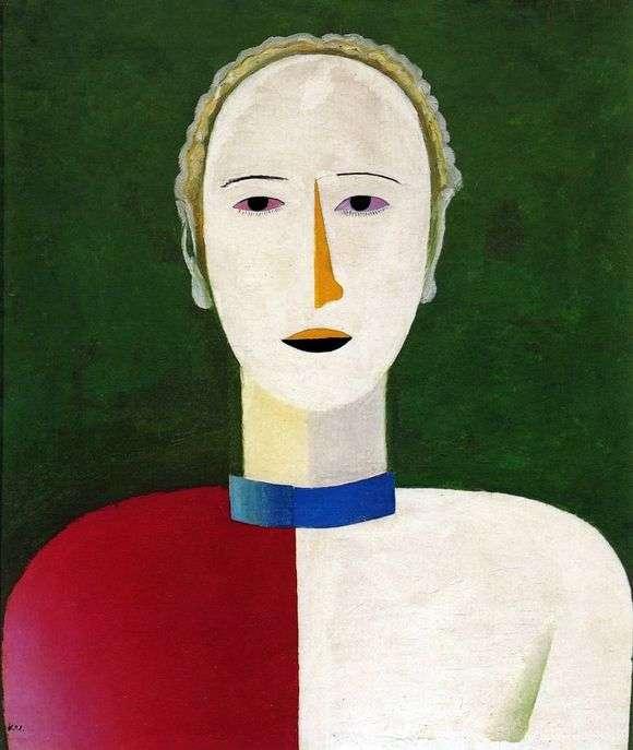 Описание картины Казимира Малевича «Женский портрет»