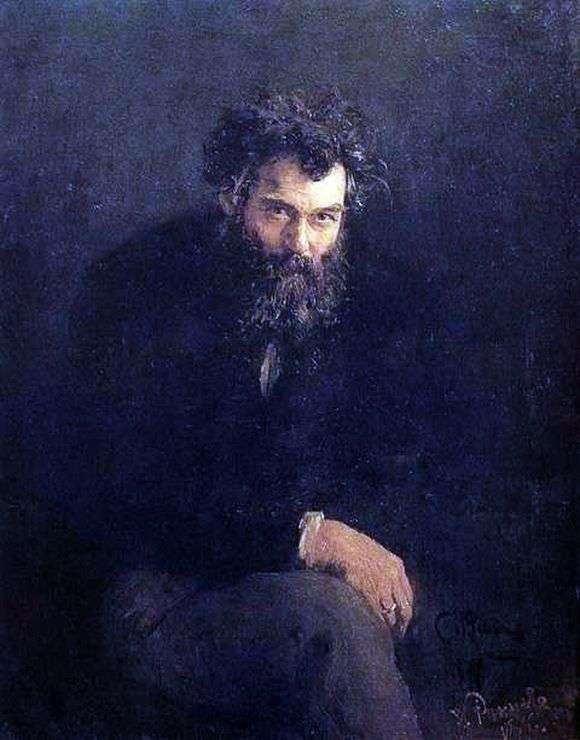 Описание картины Ивана Шишкина «Автопортрет»