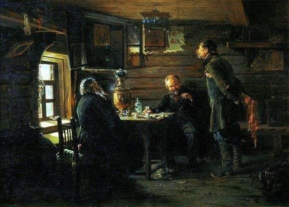 Описание картины Владимира Егоровича Маковского «Любители соловьев (1872 – 1873)»