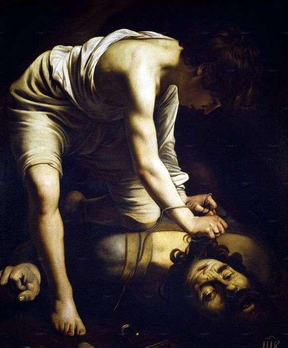 Описание картины Караваджо «Давид и Голиаф (1601)»