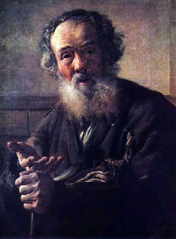 Описание картины Василия Андреевича Тропинина «Нищий старик (1823)»