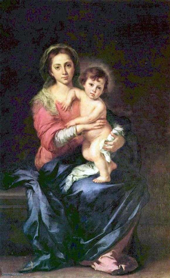 Описание картины Бартоломео Мурильо «Мадонна»