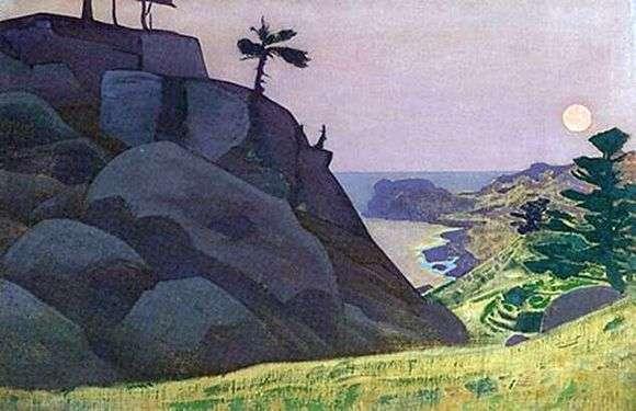 Описание картины Николая Рериха «Сказка»