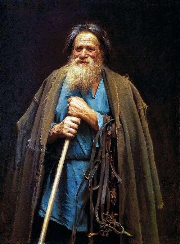 Описание картины Ивана Крамской «Крестьянин с уздечкой»