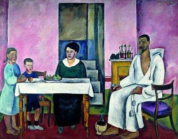 Описание картины Петра Кончаловского «Семейный портрет»