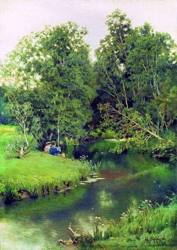 Описание картины Аполлинария Васнецова «Рыбаки»