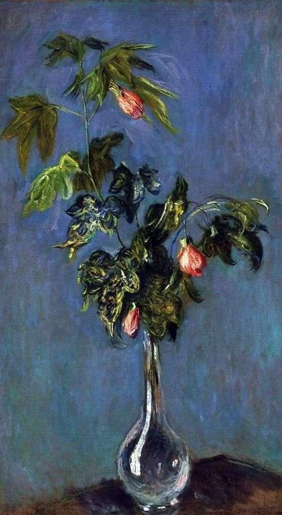 Описание картины Клода Моне «Цветы в вазе»
