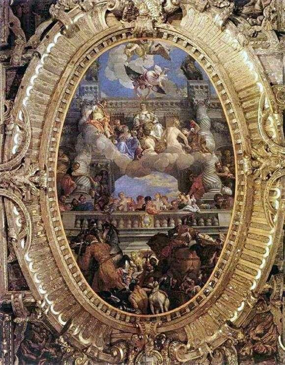 Описание картины Паоло Веронезе «Триумф Венеции»