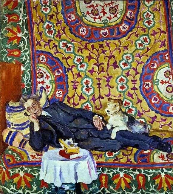 Описание картины Петра Кончаловского «Портрет В. Э. Мейерхольда»