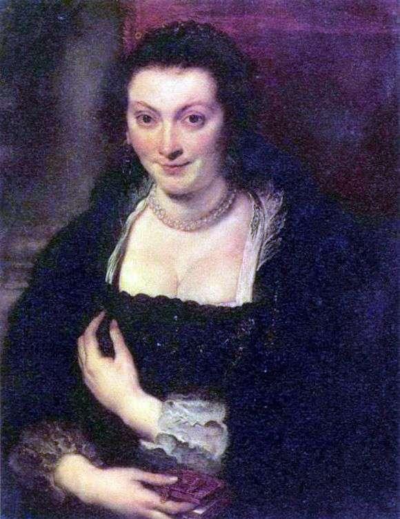 Описание картины Питера Рубенса «Женский портрет»