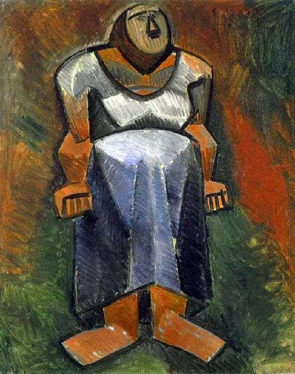 Описание картины Пабло Пикассо «Фермерша»