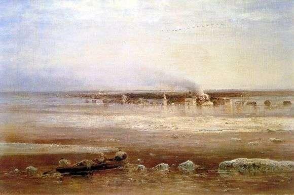 Описание картины Алексея Саврасова «Разлив Волги под Ярославлем»