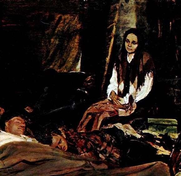Описание картины Бориса Неменского «Мать»