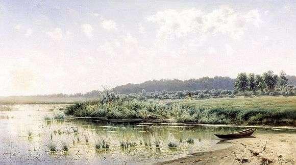 Описание картины Константина Крыжицкого «Перед полуднем»