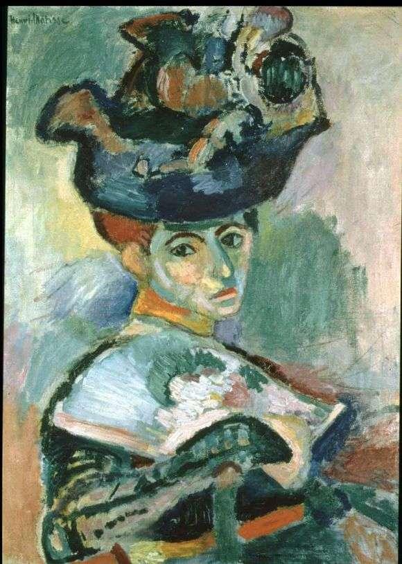 Описание картины Анри Матисса «Женщина в шляпе»