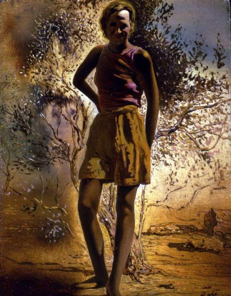 Описание картины Сальвадора «Портрет Гала»