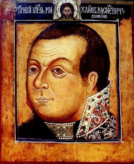 Описание картины «Парсуна князя М. В. Скопина Шуйского»