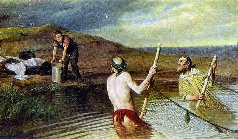 Описание картины Василия Перова «Рыбаки»