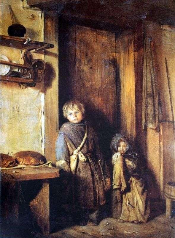 Описание картины Павла Чистякова «Нищие дети»