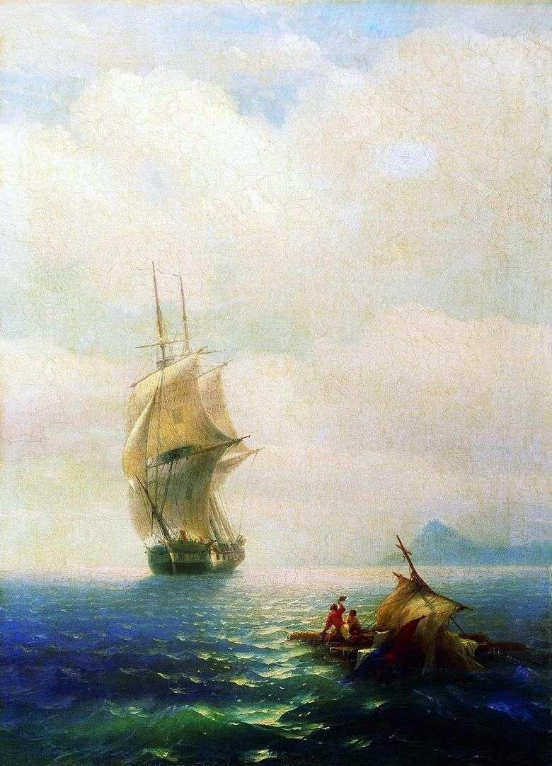 Описание картины Ивана Айвазовского «После бури»