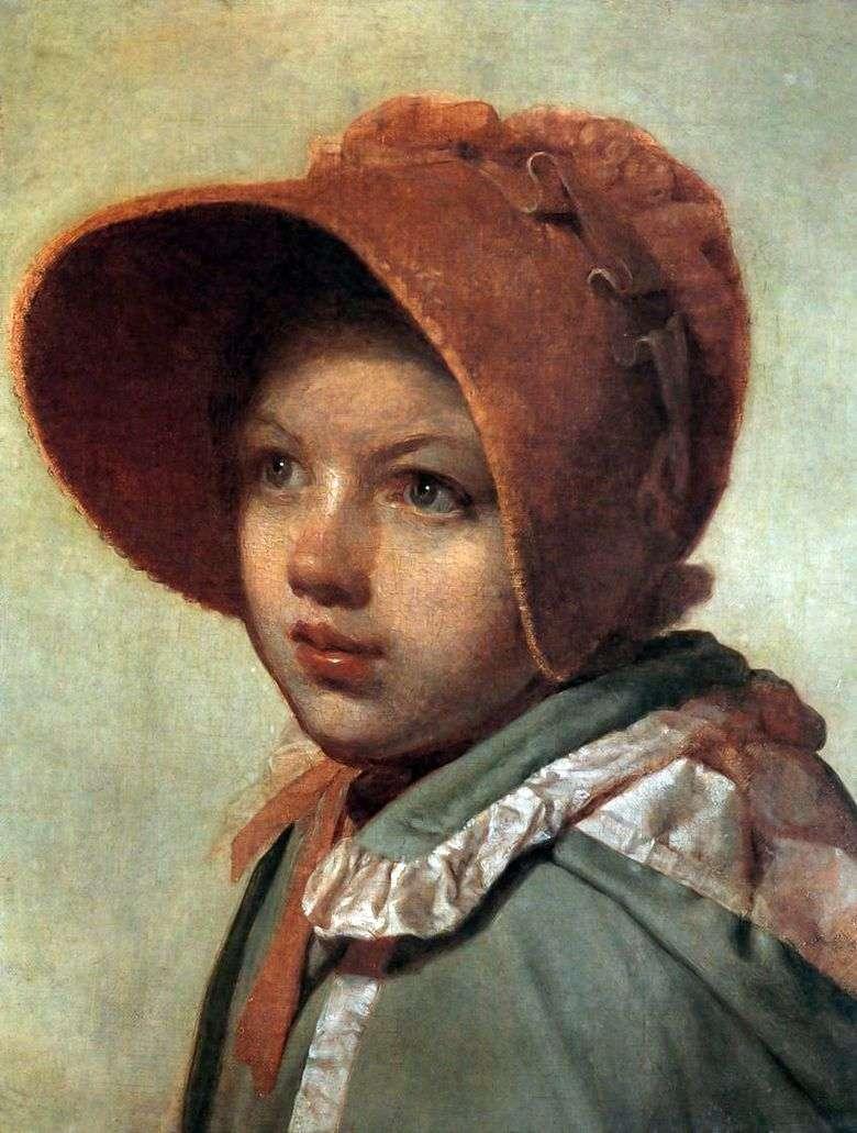 Описание картины Алексея Венецианова «Портрет А. Венециановой»
