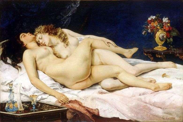 Описание картины Гюстава Курбе «Спящие»