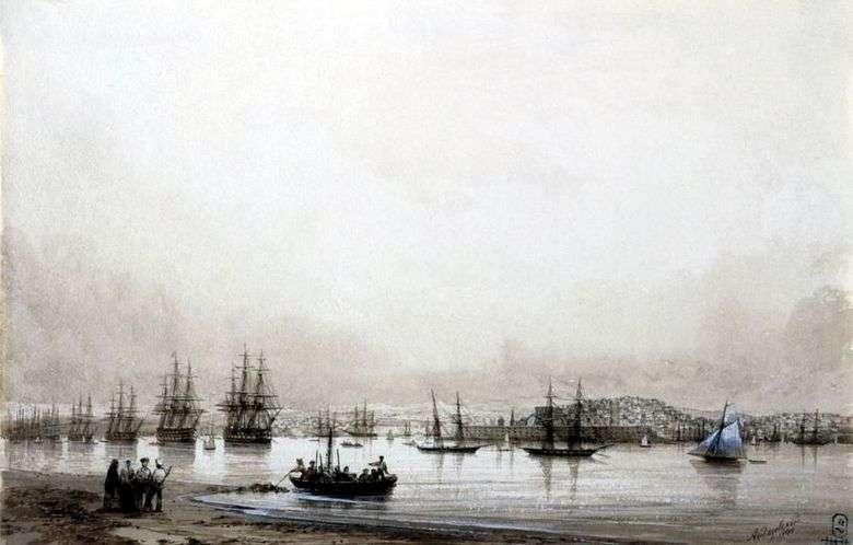 Описание картины Ивана Айвазовского «Севастополь»