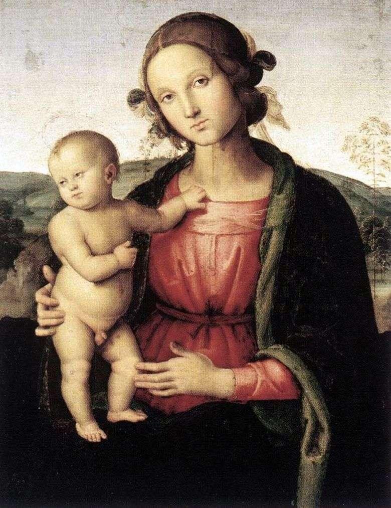 Описание картины Пьетро Перуджино «Мадонна»