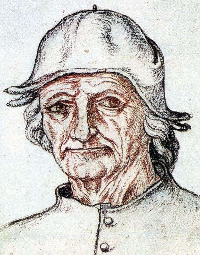 Описание картины Иеронима Босха «Автопортрет»