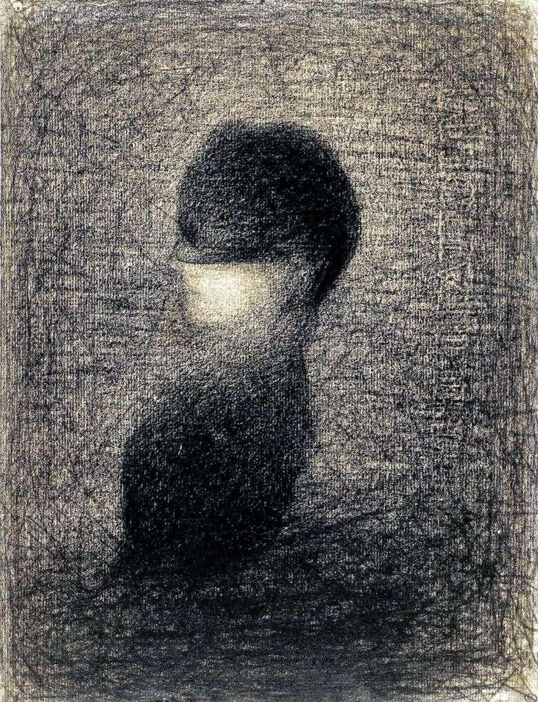 Описание картины Жоржа Сёра «Вуаль»