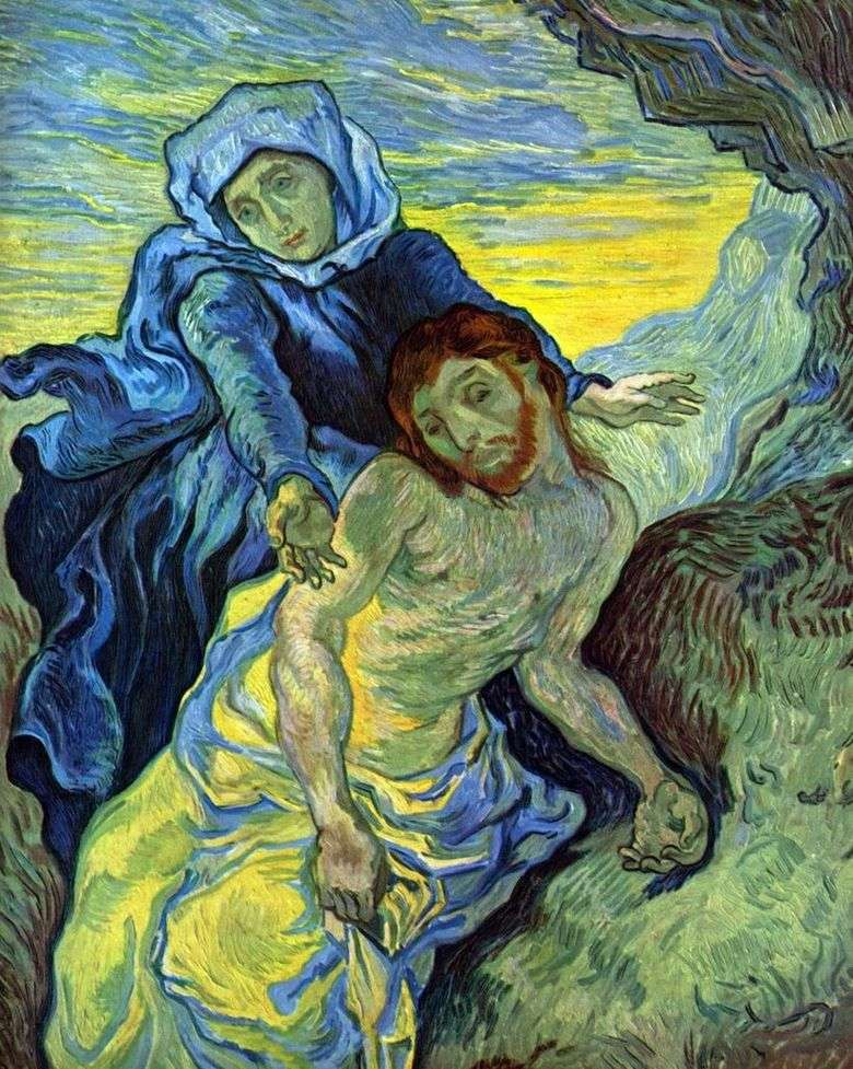 Описание картины Винсента Ван Гога «Пьета»