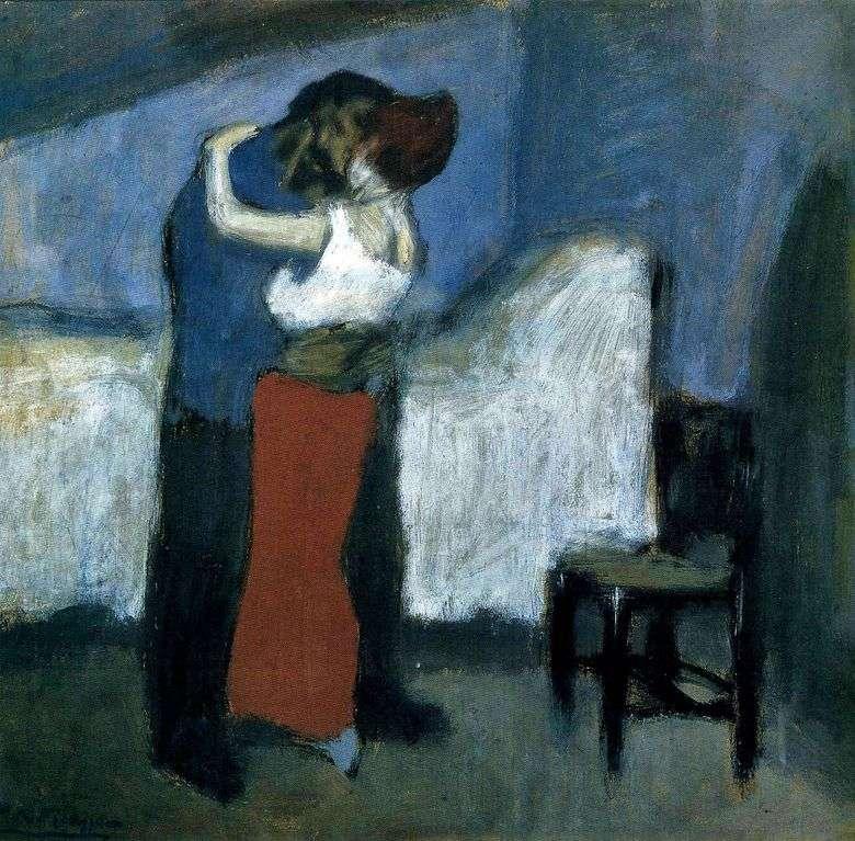 Описание картины Пабло Пикассо «Свидание»
