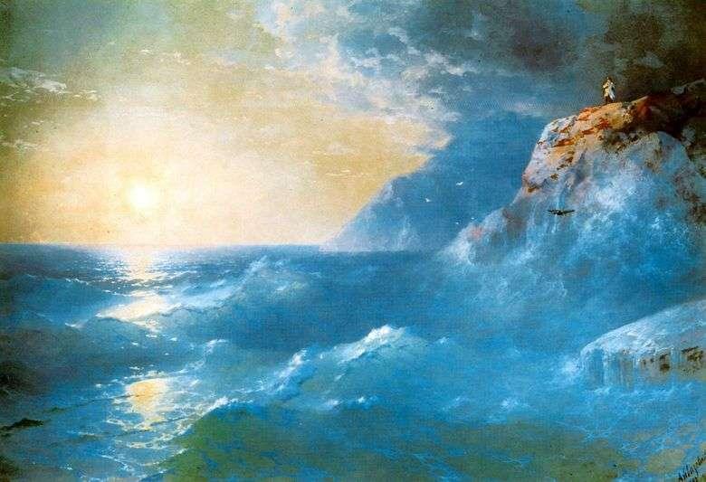 Описание картины Ивана Айвазовского «Наполеон на острове Святой Елены»