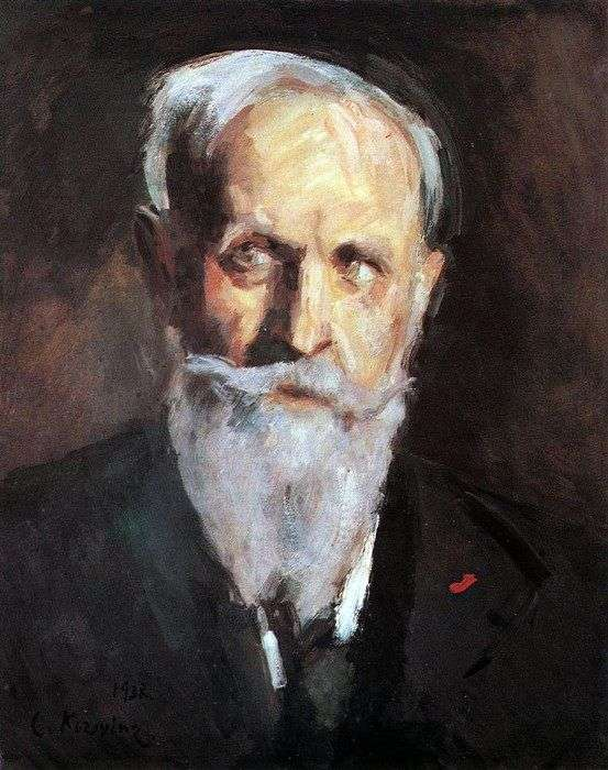 Описание картины Константина Коровина «Автопортрет»