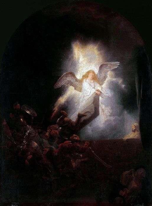 Описание картины Рембрандта «Воскресение Христа»