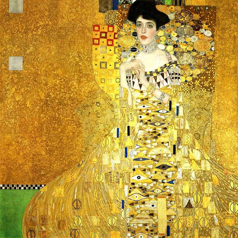 Описание картины Густава Климта «Портрет Адели Блох Бауэр I» (Золотая Адель)