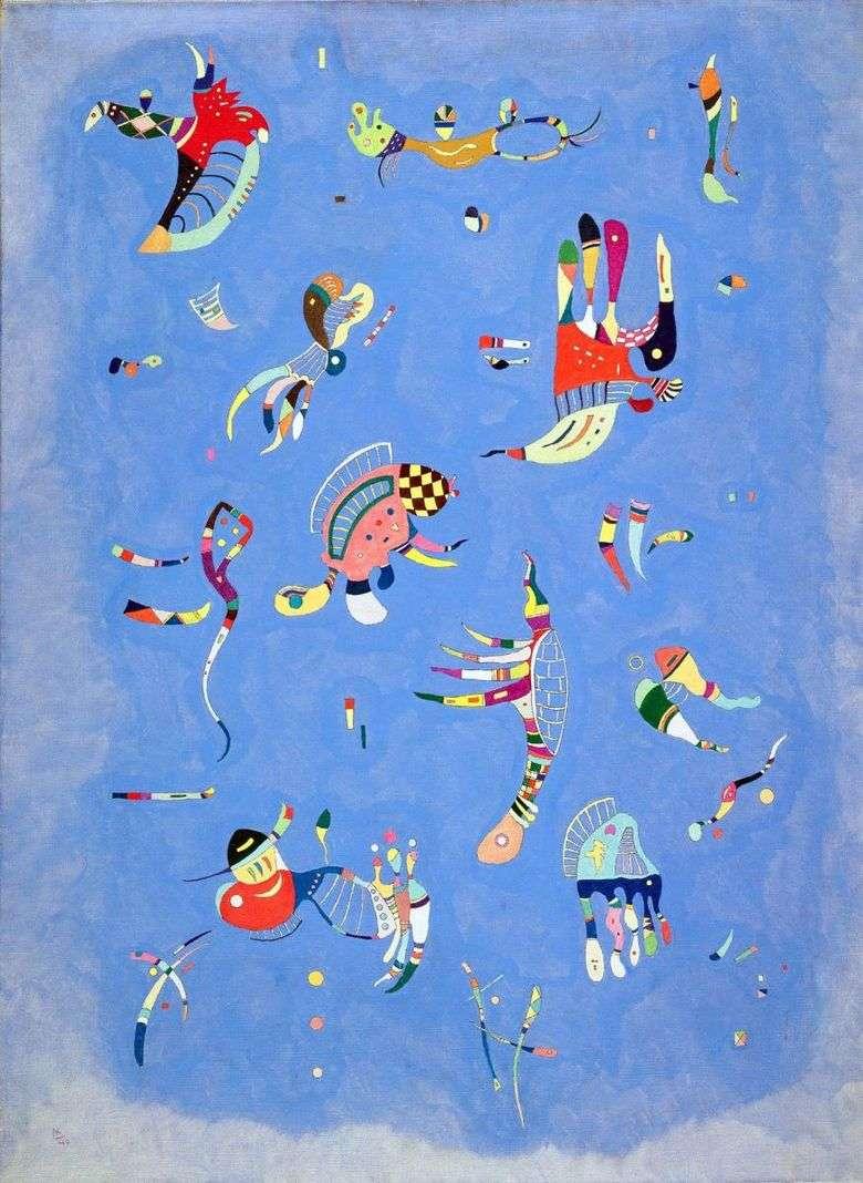 Описание картины Василия Кандинского «Синее небо»