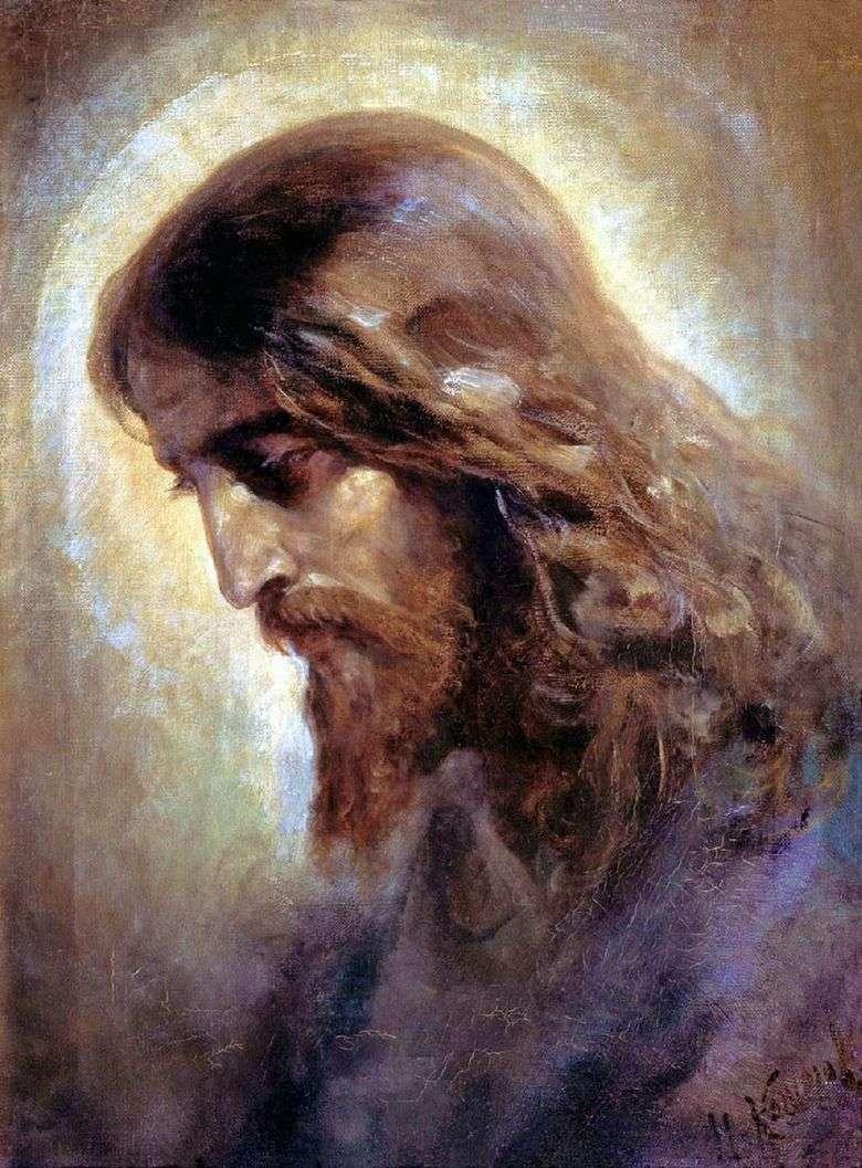 Описание картины Николая Кошелева «Голова Христа»