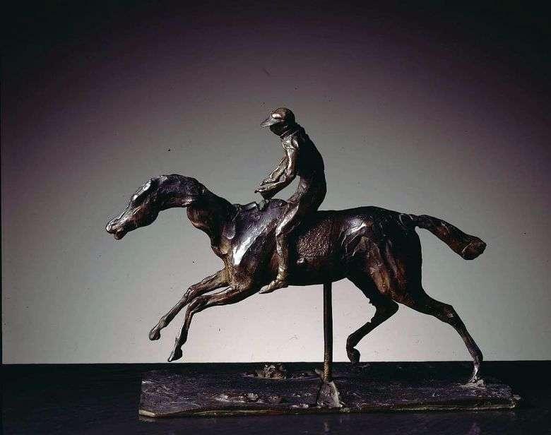 Описание скульптуры Эдгара Дега «Лошадь и наездник»