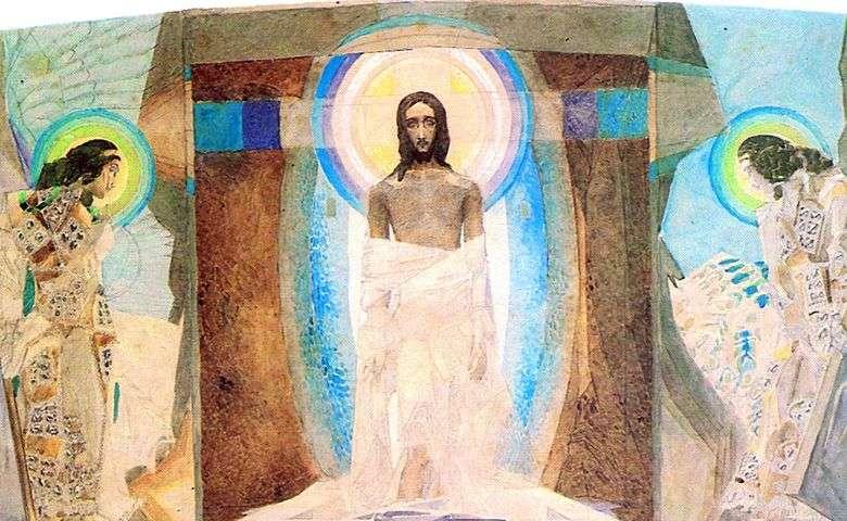 Описание картины Михаила Врубеля «Воскресение»