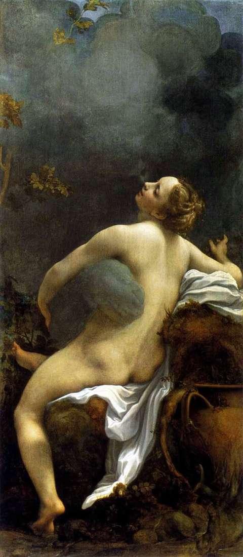 Описание картины Корреджо «Юпитер и Ио»