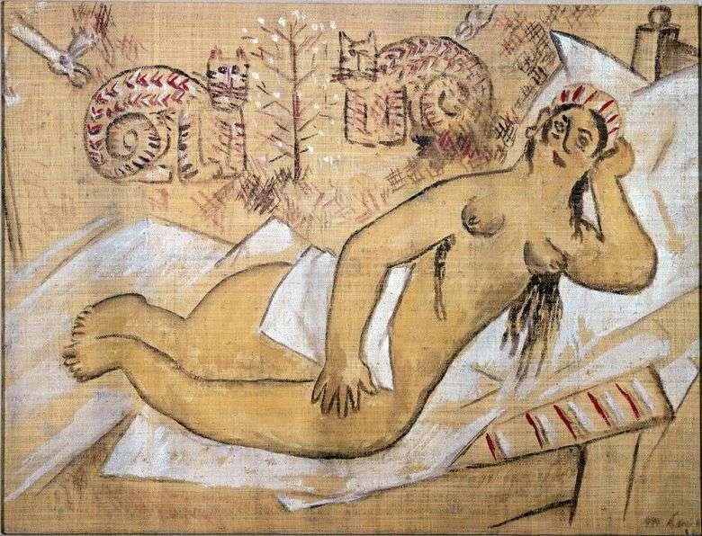 Описание картины Михаила Ларионова «Венера»