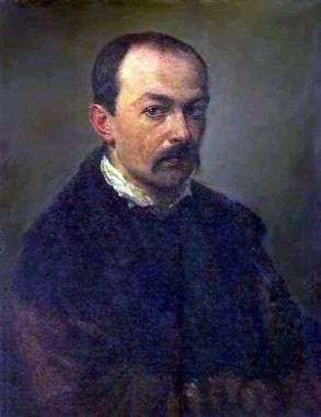 Описание картины Павла Федотова «Автопортрет»