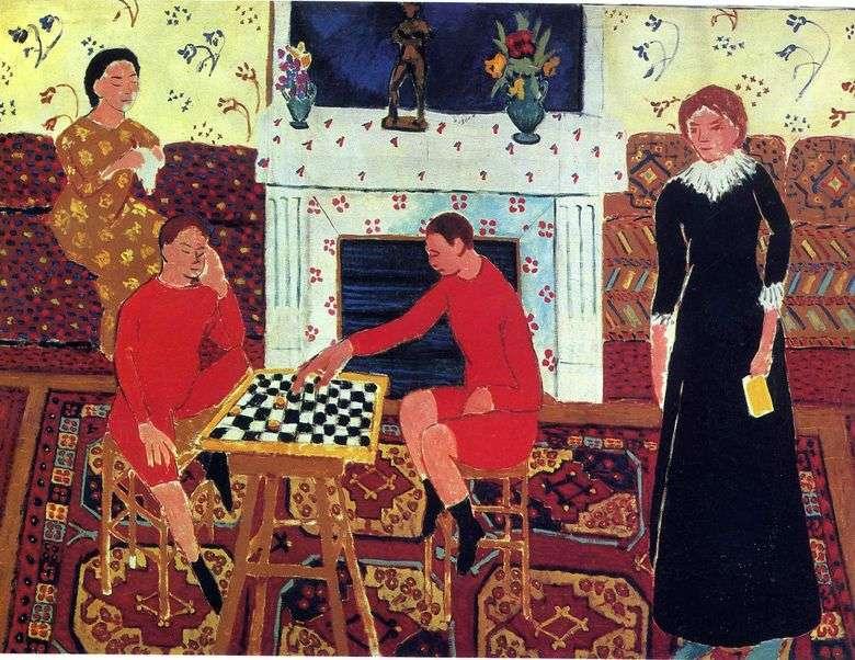 Описание картины Анри Матисса «Семейный портрет»