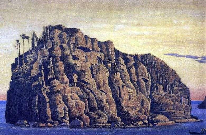 Описание картины Николая Рериха «Святой остров»