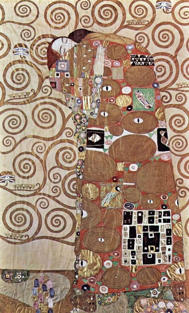 Описание картины Густава Климта «Объятия»