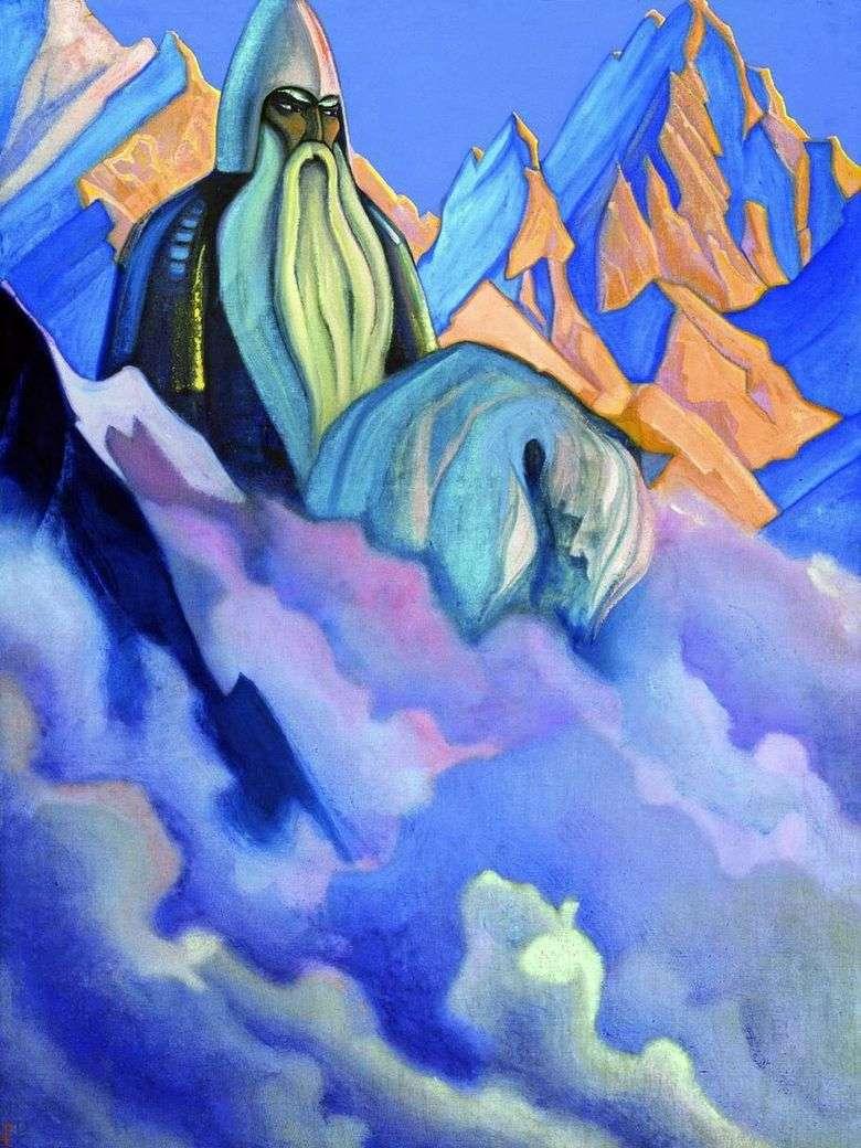 Описание картины Николая Рериха «Святогор»