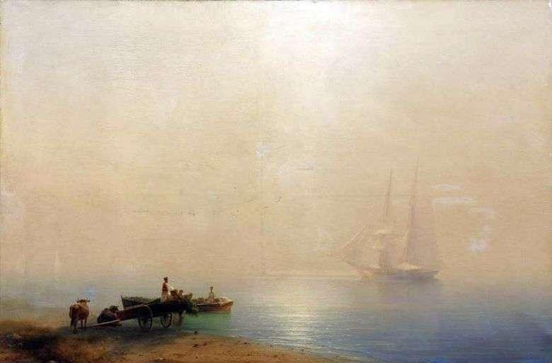 Описание картины Ивана Айвазовского «Туманное утро»