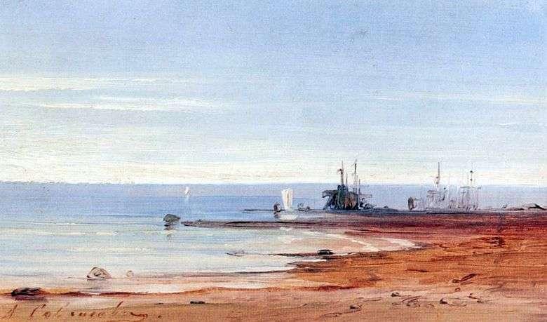 Описание картины Алексея Саврасова «Море»