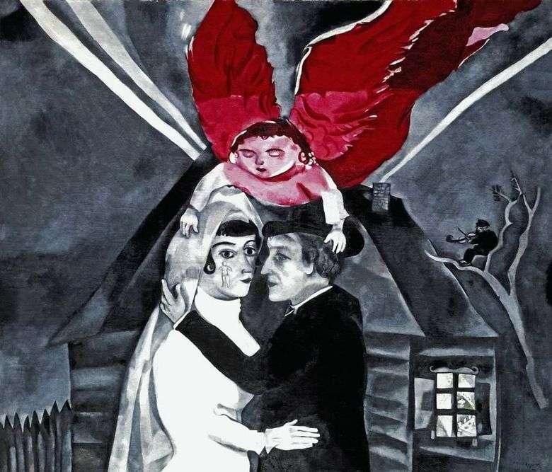 Описание картины Марка Шагала «Венчание»